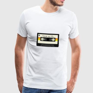 Mixtape cassette 80s - Men's Premium T-Shirt