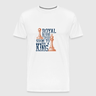 Chess - Am of royal descent - Men's Premium T-Shirt