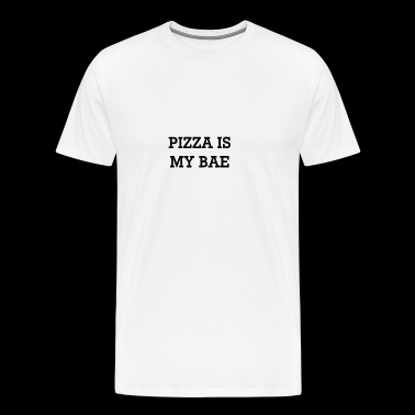 Funny pizza is my bae t-shirt gift - Men's Premium T-Shirt