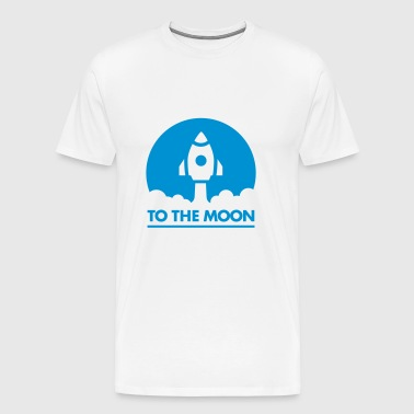 To The Moon - Men's Premium T-Shirt
