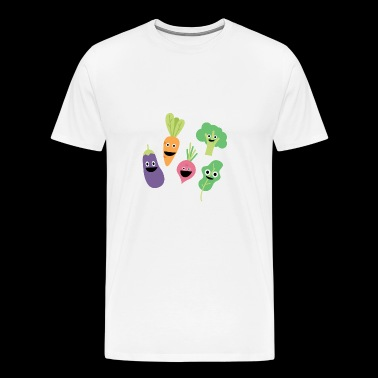 Vegetable Friends I Gift - Mannen Premium T-shirt