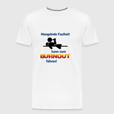 Burnout - Premium-T-shirt herr