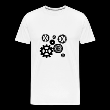 gears - Men's Premium T-Shirt