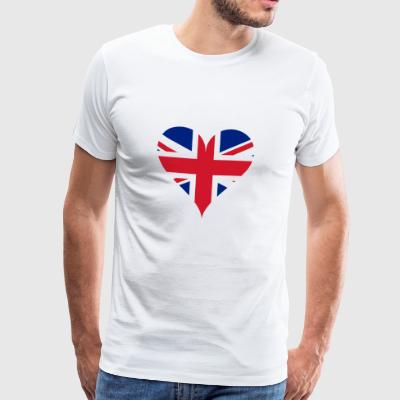 GB Heart - Men's Premium T-Shirt