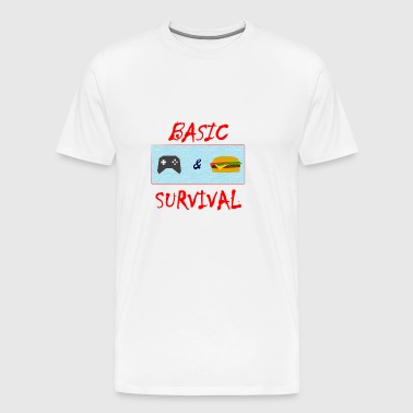 Basic Survival - Men's Premium T-Shirt