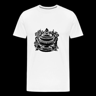soup stew soup bowl noodle cooking food19 - Men's Premium T-Shirt