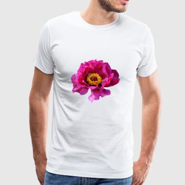 flowers lilies tulips orchids sunflower dahlia ger - Men's Premium T-Shirt