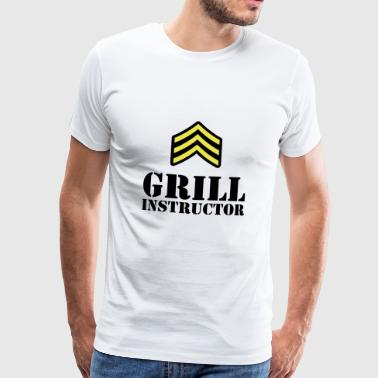 Grill Instructor - Männer Premium T-Shirt
