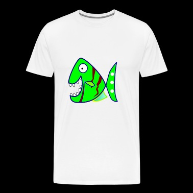 piranha - Men's Premium T-Shirt