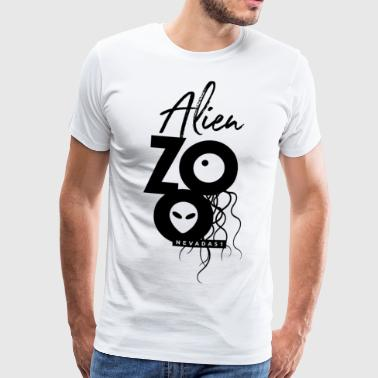 Alien Zoo - Nevada 51 - Premium-T-shirt herr