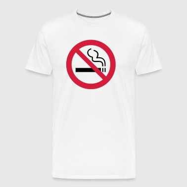 Ikke-ryger No Smoking - Herre premium T-shirt