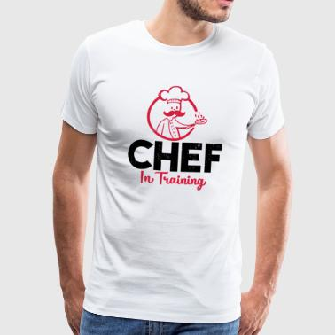 Chef in Training - Männer Premium T-Shirt