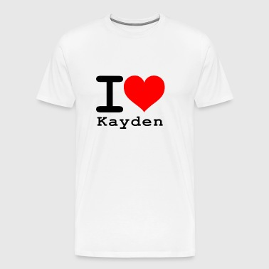 I love Kayden - Men's Premium T-Shirt