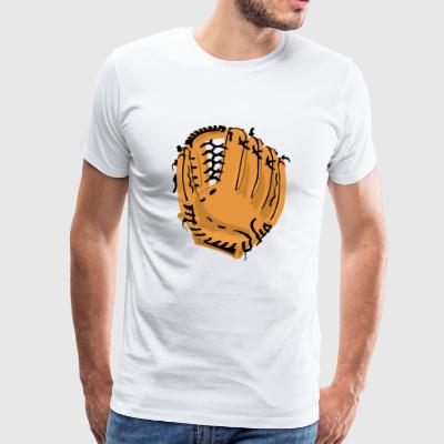 baseball sports helmet pitcher softball catcher25 - Men's Premium T-Shirt