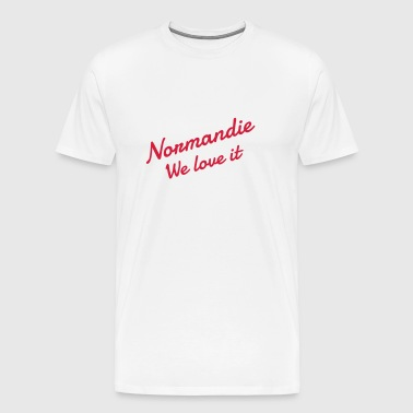 Normandie / Normand / Normande / France - T-shirt Premium Homme