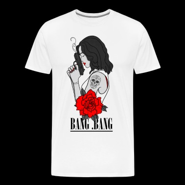 Bang Bang - Premium T-skjorte for menn