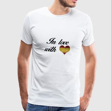 In love with Spain - Men's Premium T-Shirt
