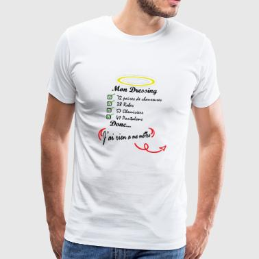 dressing - Men's Premium T-Shirt