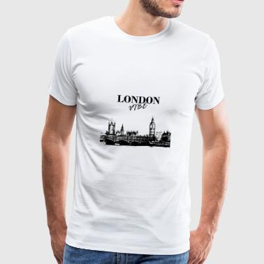 London Vibe - Herre premium T-shirt