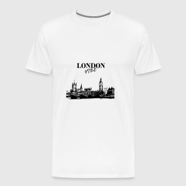 London Vibe - Premium T-skjorte for menn