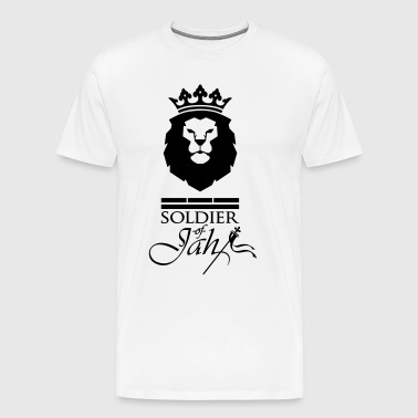 Soldier of Jah (black) - T-shirt Premium Homme