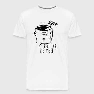 Ripe for the island Illustration - Men's Premium T-Shirt