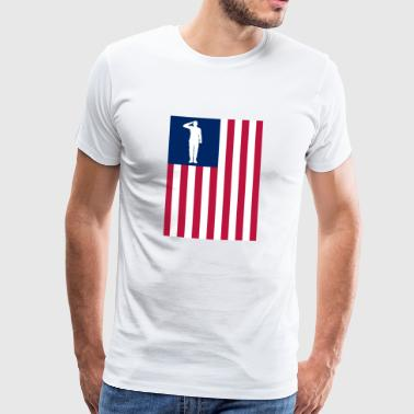 America Patriot - Men's Premium T-Shirt