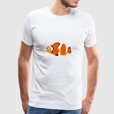 Leuke t-shirt cartoon tekenen Funny Sweet Fish - Mannen Premium T-shirt