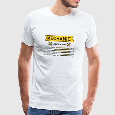 Automotive mechatronica mechanica uurprijs - Mannen Premium T-shirt