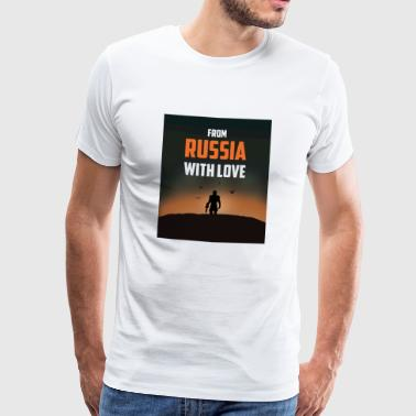 FROM RUSSIA WITH LOVE - Men's Premium T-Shirt