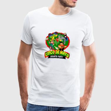 cinco de mayo private partij anti troef muur - Mannen Premium T-shirt