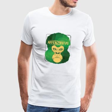 Gorilla Saying Party Gift Monkey Zoo Kids Animal - Men's Premium T-Shirt