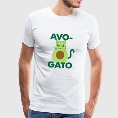 Avo Gato cat funny pictures - Men's Premium T-Shirt