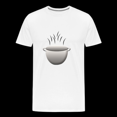 soup stew soup bowl noodle cooking food3 - Men's Premium T-Shirt