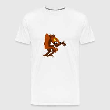 Loup-garou Loups comic cartoon - T-shirt Premium Homme