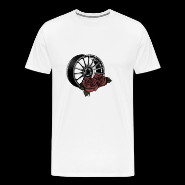 Tuning jante Rose - T-shirt Premium Homme