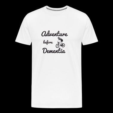 Mountain Bike Adventure before Dementia - Men's Premium T-Shirt
