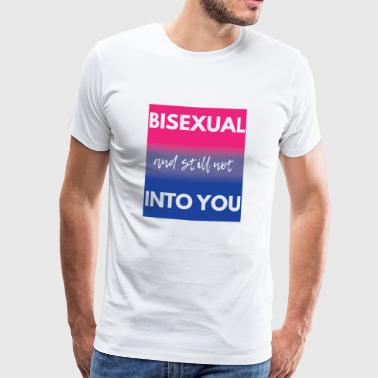 Bisexual T-Shirt - Gay Pride - Gay - Gift - Men's Premium T-Shirt