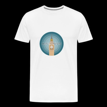 I love London - T-shirt Premium Homme