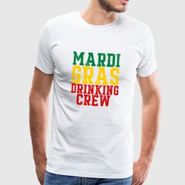 drinking crew - Men's Premium T-Shirt