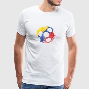 Voetbal Colombia Gift World Championship Party - Mannen Premium T-shirt