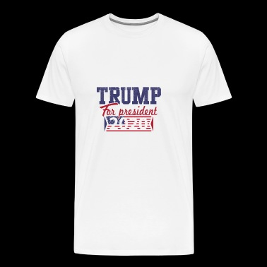 Trump for præsident 2020 - Herre premium T-shirt