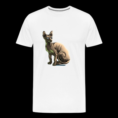 sushi le chat sphynx - T-shirt Premium Homme