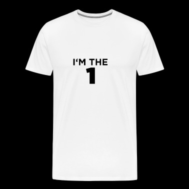 I am the one - black - Men's Premium T-Shirt