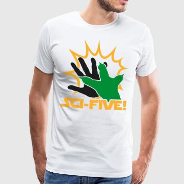 Sci Five - Y (dark) - Men's Premium T-Shirt