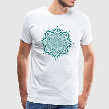 Mandala Rest of kings - Premium T-skjorte for menn