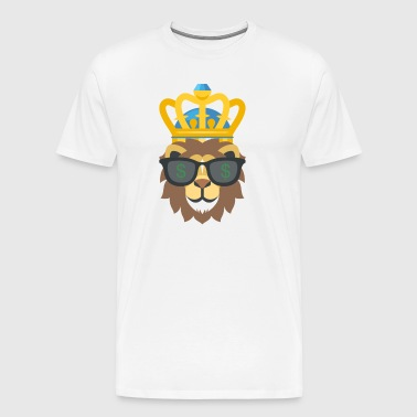 King of the Jungle - Koszulka męska Premium