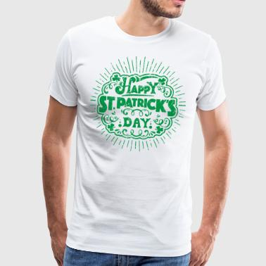 Glad St. Patricks Day kul t-skjorte gave - Premium T-skjorte for menn