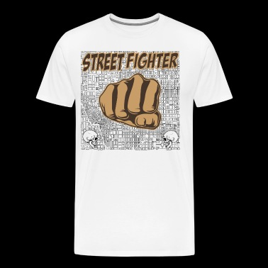 street fighters - Men's Premium T-Shirt