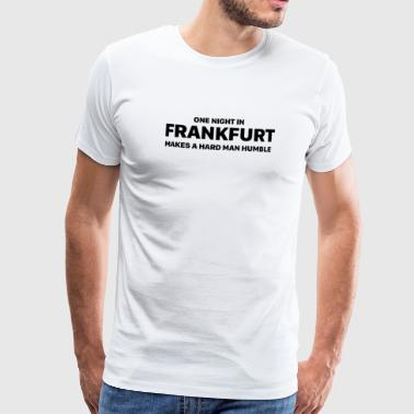 One night in Frankfurt - Men's Premium T-Shirt